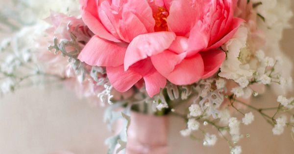 Soft pink peony bouquet, Peony Bridal bouquet, wedding bouquet, wedding flowers, peony