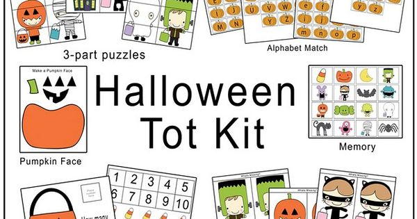 Printables for a Halloween theme