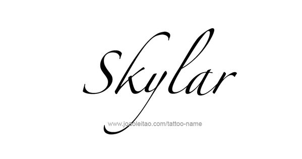 Skylar Name Tattoo Designs | More Tattoo designs, Tattoo ...