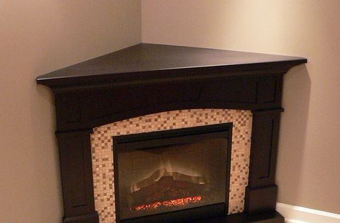 """Fireplace For Small Spaces: A Gorgeous Dimplex 26"""" Plug-In #Electric Fireplace For"""