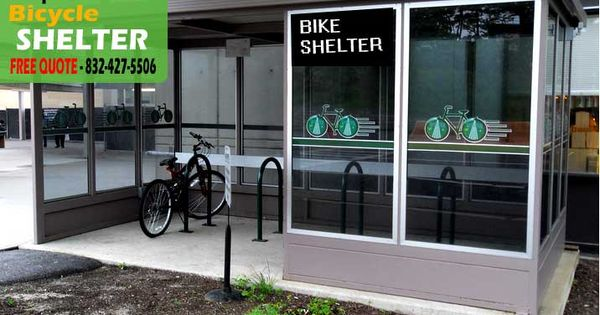 Metal Bicycle Shelters : Prefabricated bicycle shelter kit sales installation