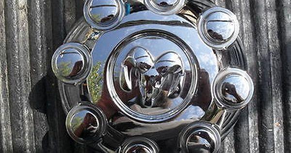 Dodge Ram 1500 2500 3500 Chrome Wheel Center Cap Hubcap 2003 2013 Manufacturer Part Number 52121450aa Interchange Part Num With Images Chrome Wheels Dodge Ram 1500 Wheel