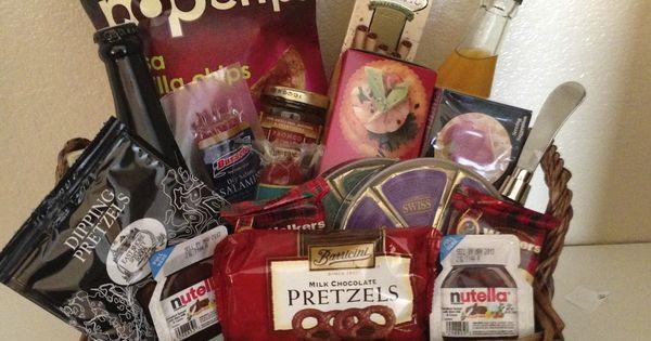 Gift Basket For Bride And Groom Wedding Night : ... Gift Basket or Wedding Night Midnight Snack for Bride and Groom