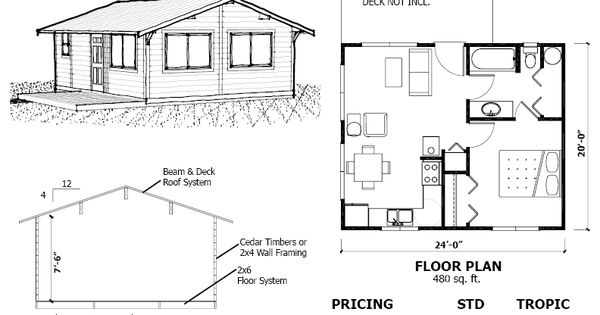 480 sq ft small house plans pinterest cabin kits and for 600 sq ft cabin kits