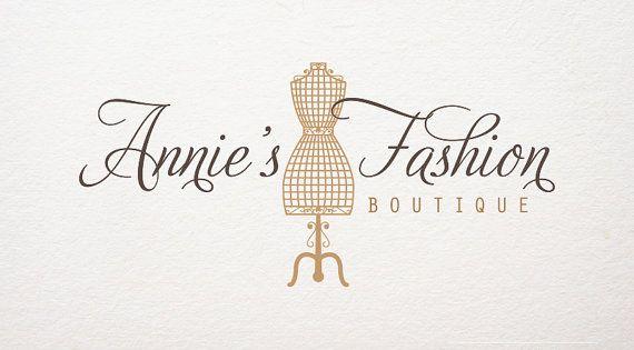 Premade Logo Fashion Boutique Logo Logo By Kristinartdesign 15 00 Logotipo Loja Logotipo De Loja Design De Etiqueta