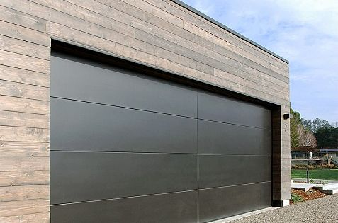 San francisco bay area modern garage doors in a for Bay area garage doors