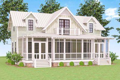 Plan 130002lls Delightful Cottage House Plan Cottage Homes Cottage Plan Lake House Plans