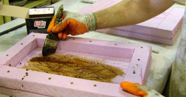 Make Custom Molds Using Insulation Foam And Quickset