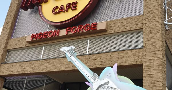 The Hard Rock Cafe In Pigeon Forge Favorite Places In