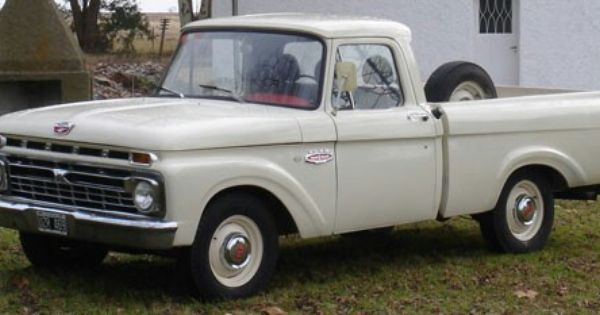 Ford F100 1966 Ford Fordargentina Fordf100 Classic Ford