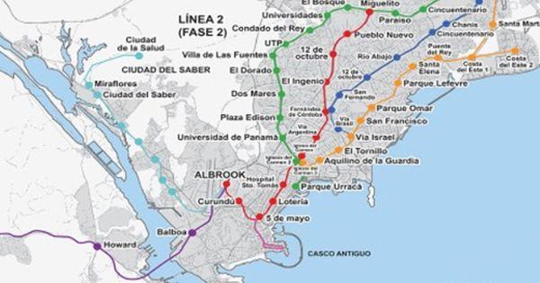 Image Result For Map Of Panama City Panama Neighborhoods Panama