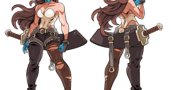 Character Design Vancouver : Bunny ronin character study by edwinhuang on deviantart