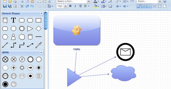 Diagramly - Online Diagram, Mind Map, and Flow Chart Creator ...