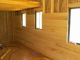 14 X 24 Owner Built Cabin My House Plans Cabin Interiors Cabins And Cottages