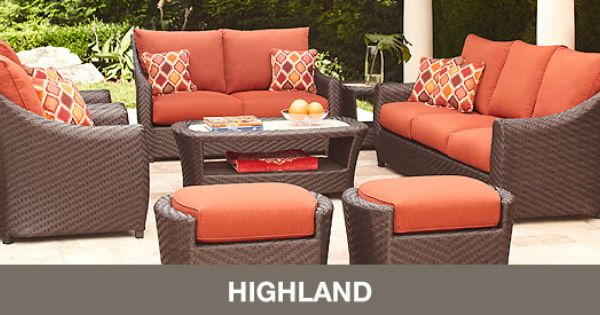 Brown Jordan Highland Patio Collection Exclusively At Home Depot Outdoor Inspire Pinterest