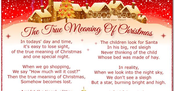 Real Meaning Of Christmas Tree