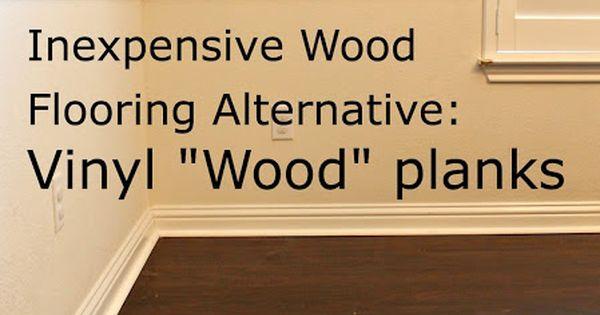 Inexpensive wood floor alternative good for basements or for Inexpensive flooring alternatives