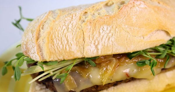 Ron Badach's Spicy Black Bean Burger with Chipotle Mayo #TheChew ...
