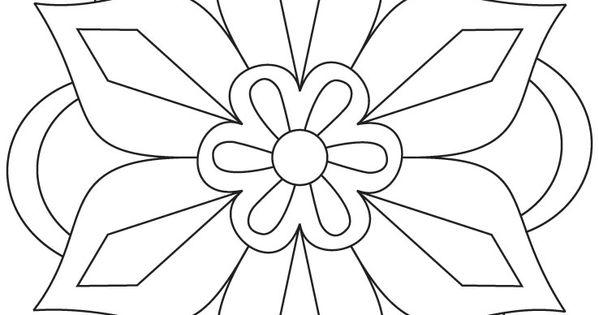 Diwali coloring pages rangoli indian ~ Diwali Rangoli Coloring Pages | Flower rangoli coloring ...