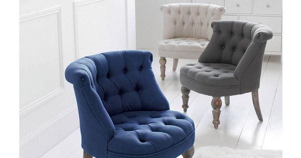 fauteuil crapaud capitonn ad lia la redoute interieurs. Black Bedroom Furniture Sets. Home Design Ideas