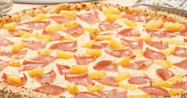 Pizza Hawaiiana Recetas De Pizza Receta De Pizza Hawaiana Pizza Hawaiana