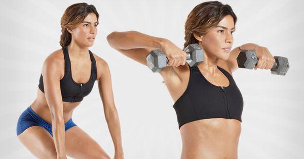 Weekend Challenge: Dumbbell Hang Pull   Body exercises ...