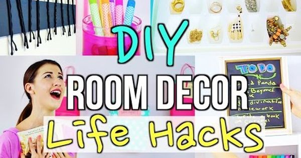 Diy room decor life hacks for teens diy room decor room for Room decor hacks