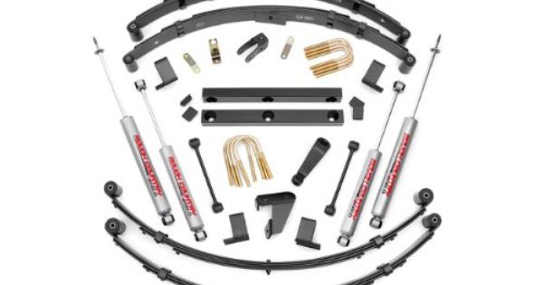 Rough Country 620n2 4 Suspension Lift Kit For Jeep Wrangler