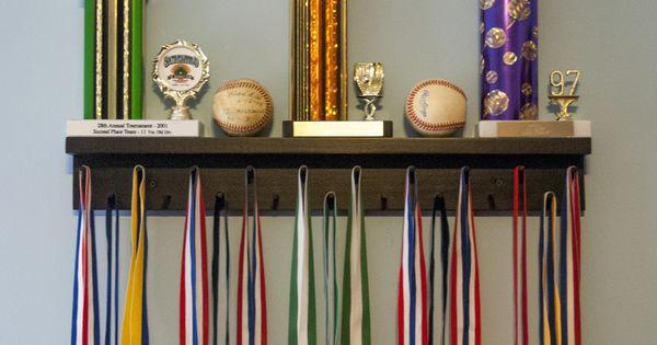 6Types Black Sporting Medal Hangers Awards Display Medal Holder Rack .