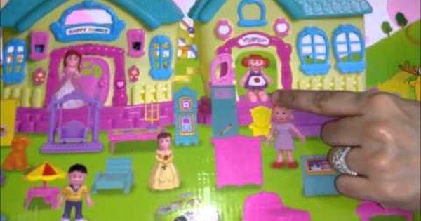 العاب عبير لعبة البيت من الخارج الأثاث المنزلي العاب أطفال بنات و