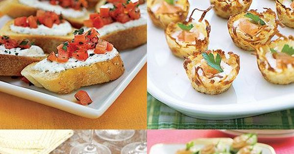 easy summer appetizers finger foods