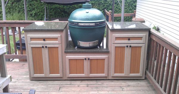 Deck Grill Station Outdoor Cooking