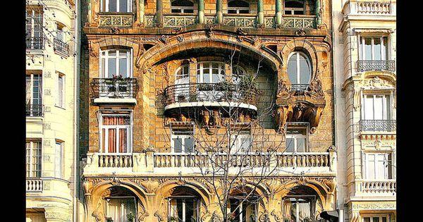 Jules lavirotte paris 29 avenue rapp 1901 la fa ade for Avenue jules dujardin 5