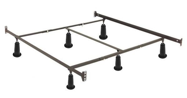Best California King High Rise Metal Bed Frame W Headboard 400 x 300
