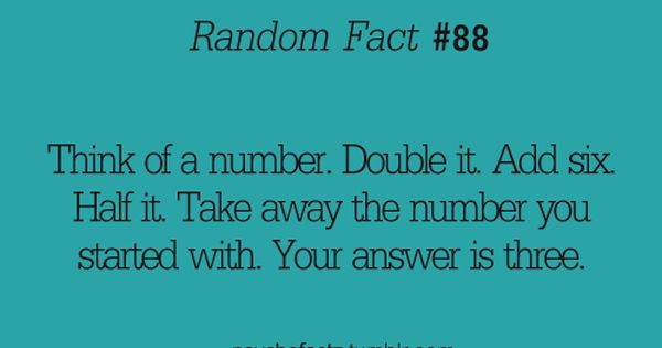 random fact 88 mind blown...