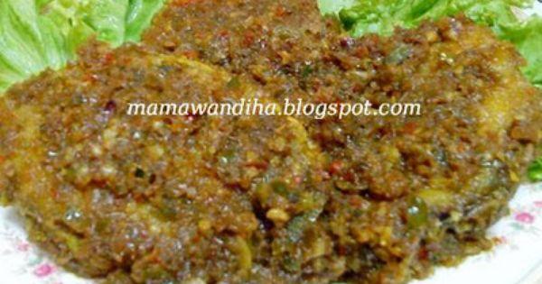 Dari Dapur Madihaa Kurau Goreng Berlada Hijau Food Meatloaf Meat