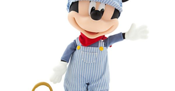 Mickey Mouse Talking Train Conductor Figure 13