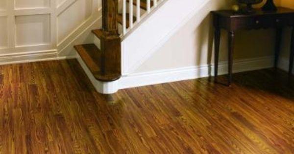 Pergo presto gunstock oak 8 mm thick x 7 5 8 in wide x 47 for Hom flooring