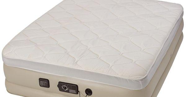 Serta Raised Air Mattress With Never Flat Pump Air Mattress Air Bed Twin Air Mattress