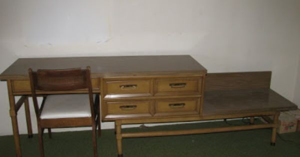 Mid century american of martinsville hotel furniture for Mid century american furniture