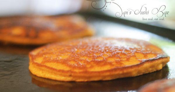 Butternut Squash Paleo Pancakes.