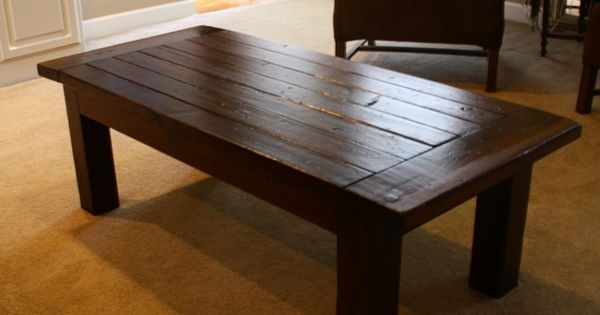 build your own coffee table and the website has a lot of build your