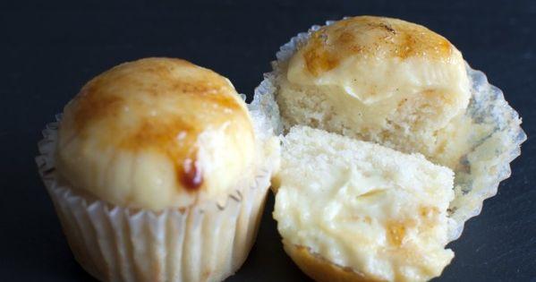 Creme Brûlée Cupcakes.