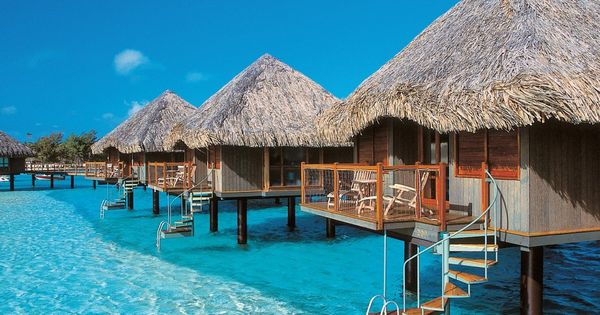 Overwater Bungalows in Bora Bora - on my Travel BucketList : )