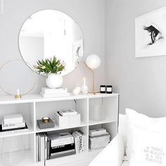 Bright White Mirror And Stand White Living Room Bedroom
