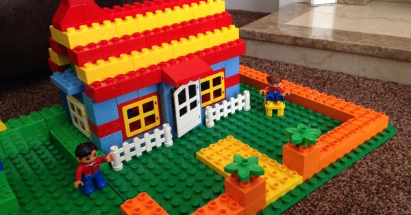 bungalow cottage lego duplo s pinterest bungalow. Black Bedroom Furniture Sets. Home Design Ideas