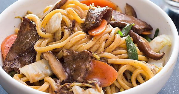America S Test Kitchen Japanese Stir Fry Noodles With Beef