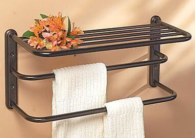 12 Best Bronze Towel Racks Of 2020 Easy Home Concepts Bathroom Towel Bar Hotel Towels Towel Shelf