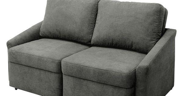 Schlafsofa Boxspring Fresh Boxspring Schlafsofa Befasy Webstoff Grau Fredriks In 2020 Sprung Sofa Canape Sofa Sofa Bed