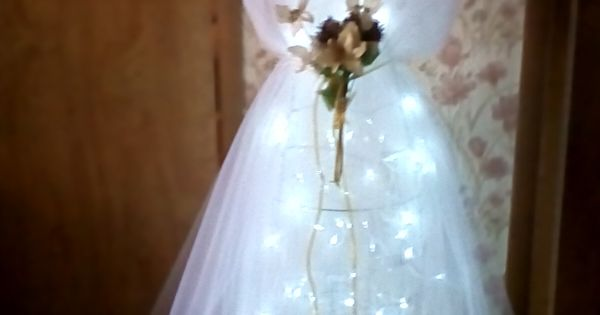 Pin By Darlene Beishline On Tulle Tomato Cage Angel